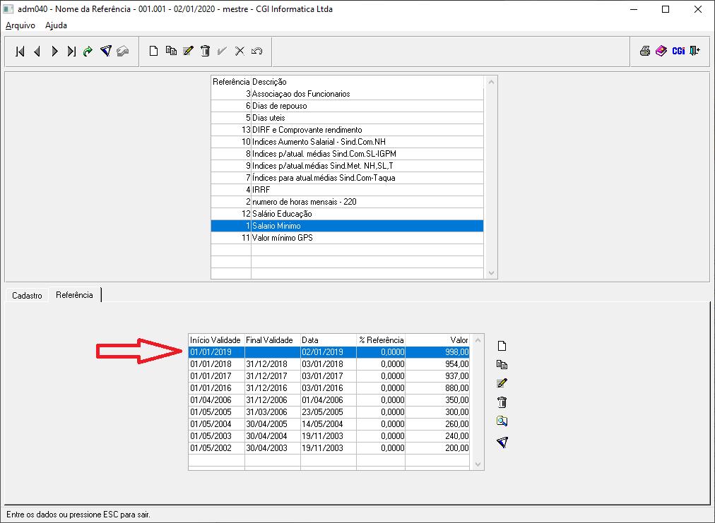 Salario Minimo 2020 Wiki Cgi Software De Gest Atilde O